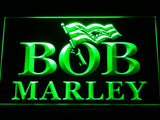 Bob Marley LED Neon Sign - Green - SafeSpecial