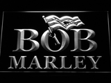 Bob Marley LED Neon Sign - White - SafeSpecial