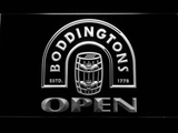 Boddingtons Open LED Neon Sign - White - SafeSpecial