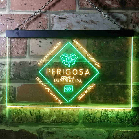 Image of Bodebrown Perigosa Imperial IPA Neon-Like LED Sign - Dual Color