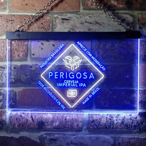 Bodebrown Perigosa Imperial IPA Neon-Like LED Sign - Dual Color