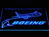Boeing LED Neon Sign - Blue - SafeSpecial