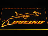 Boeing LED Neon Sign - Yellow - SafeSpecial