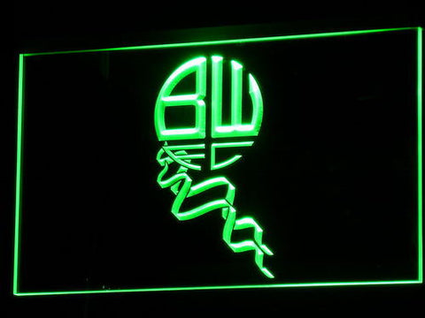 Bolton Wanderers FC LED Neon Sign - Legacy Edition - Green - SafeSpecial