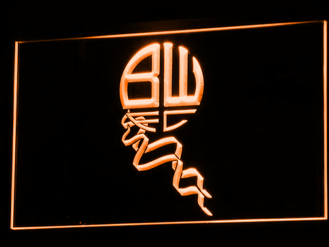 Bolton Wanderers FC LED Neon Sign - Legacy Edition - Orange - SafeSpecial
