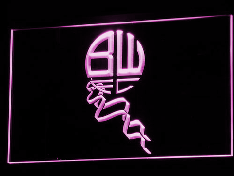 Bolton Wanderers FC LED Neon Sign - Legacy Edition - Purple - SafeSpecial
