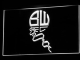 Bolton Wanderers FC LED Neon Sign - Legacy Edition - White - SafeSpecial