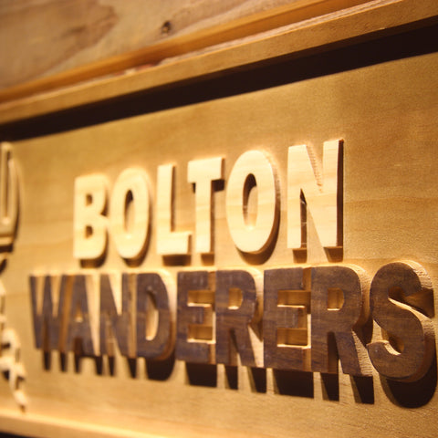 Bolton Wanderers FC Wooden Sign - Legacy Edition - - SafeSpecial