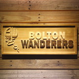 Bolton Wanderers FC Wooden Sign - Legacy Edition - Small - SafeSpecial