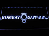 Bombay Sapphire LED Neon Sign - White - SafeSpecial