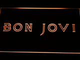 Bon Jovi LED Neon Sign - Orange - SafeSpecial