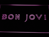 Bon Jovi LED Neon Sign - Purple - SafeSpecial