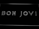 Bon Jovi LED Neon Sign - White - SafeSpecial