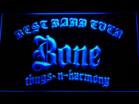 Bone Thugs N Harmony Best Band Ever LED Neon Sign - Blue - SafeSpecial