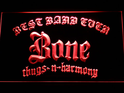 Bone Thugs N Harmony Best Band Ever LED Neon Sign - Red - SafeSpecial