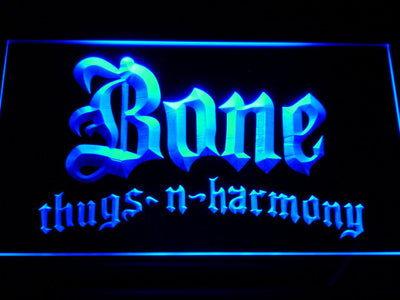 Bone Thugs N Harmony LED Neon Sign - Blue - SafeSpecial