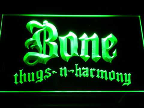 Bone Thugs N Harmony LED Neon Sign - Green - SafeSpecial