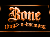 Bone Thugs N Harmony LED Neon Sign - Orange - SafeSpecial