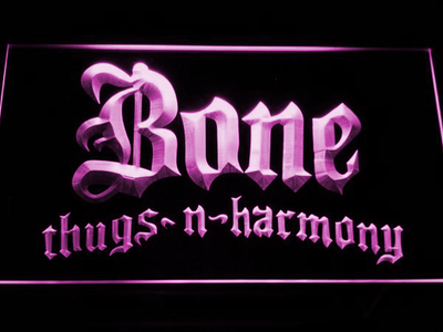 Bone Thugs N Harmony LED Neon Sign - Purple - SafeSpecial