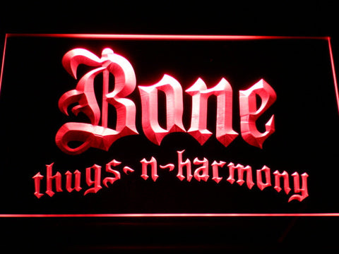 Image of Bone Thugs N Harmony LED Neon Sign - Red - SafeSpecial