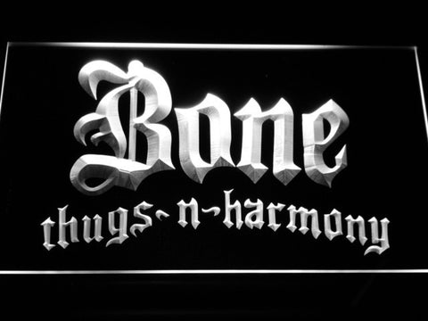 Image of Bone Thugs N Harmony LED Neon Sign - White - SafeSpecial