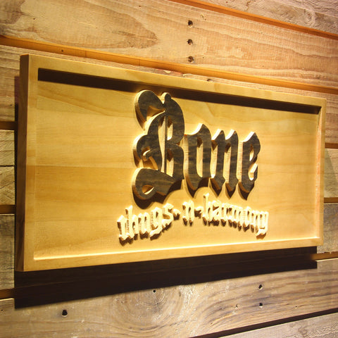 Bone Thugs N Harmony Wooden Sign - - SafeSpecial