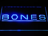 Bones LED Neon Sign - Blue - SafeSpecial
