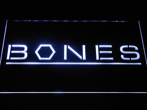 Bones LED Neon Sign - White - SafeSpecial