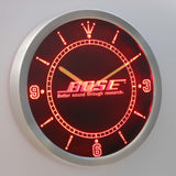 Bose LED Neon Wall Clock - Red - SafeSpecial