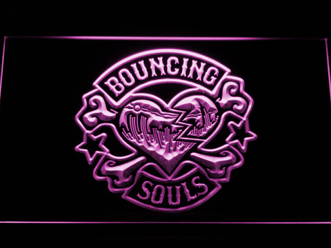 Image of Bouncing Souls LED Neon Sign - Purple - SafeSpecial