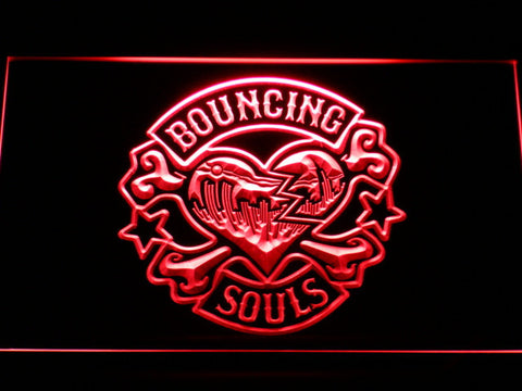 Bouncing Souls LED Neon Sign - Red - SafeSpecial