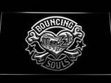Bouncing Souls LED Neon Sign - White - SafeSpecial