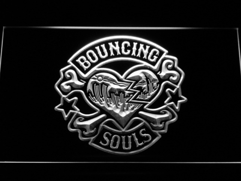 Image of Bouncing Souls LED Neon Sign - White - SafeSpecial