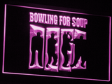 Bowling For Soup LED Neon Sign - Purple - SafeSpecial