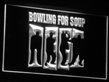 Bowling For Soup LED Neon Sign - White - SafeSpecial