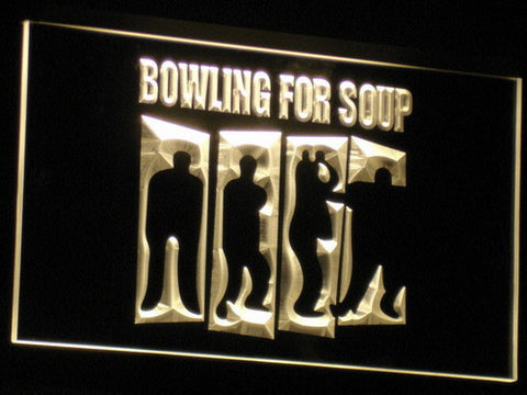 Bowling For Soup LED Neon Sign - Yellow - SafeSpecial