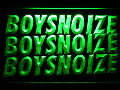 Image of Boys Noize LED Neon Sign - Green - SafeSpecial