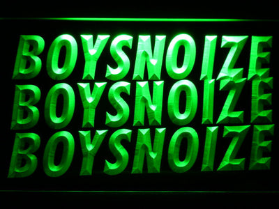 Boys Noize LED Neon Sign - Green - SafeSpecial