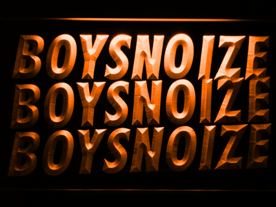 Boys Noize LED Neon Sign - Orange - SafeSpecial