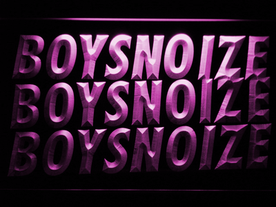 Boys Noize LED Neon Sign - Purple - SafeSpecial