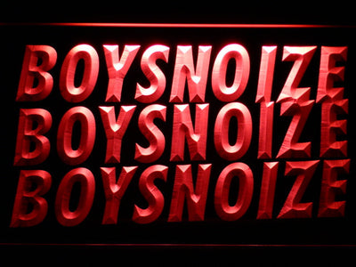 Boys Noize LED Neon Sign - Red - SafeSpecial