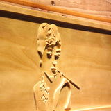 Breakfast at Tiffany's Holly Golightly Wooden Sign - - SafeSpecial