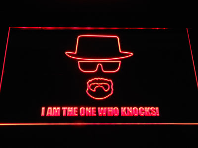 Breaking Bad Bryan Cranston Knocks LED Neon Sign - Red - SafeSpecial