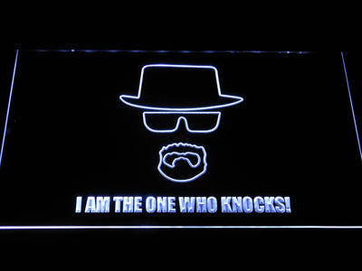 Breaking Bad Bryan Cranston Knocks LED Neon Sign - White - SafeSpecial