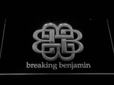 Breaking Benjamin LED Neon Sign - White - SafeSpecial