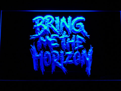 Bring Me The Horizon LED Neon Sign - Blue - SafeSpecial