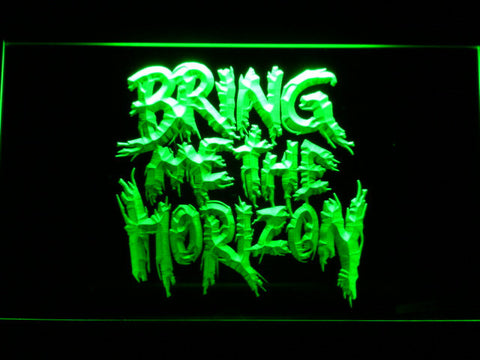 Bring Me The Horizon LED Neon Sign - Green - SafeSpecial