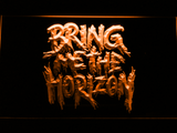 Bring Me The Horizon LED Neon Sign - Orange - SafeSpecial