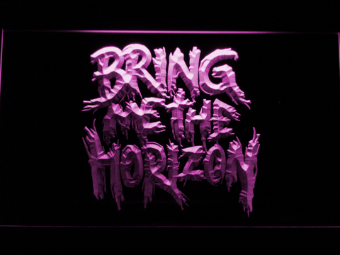 Bring Me The Horizon LED Neon Sign - Purple - SafeSpecial