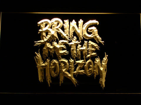 Bring Me The Horizon LED Neon Sign - Yellow - SafeSpecial